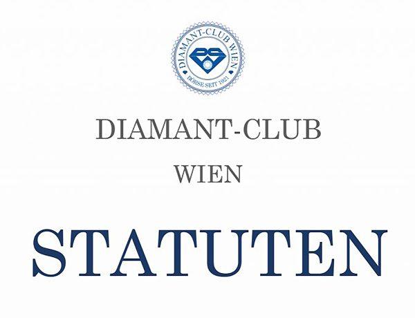 Statuten des Diamant Club Wien