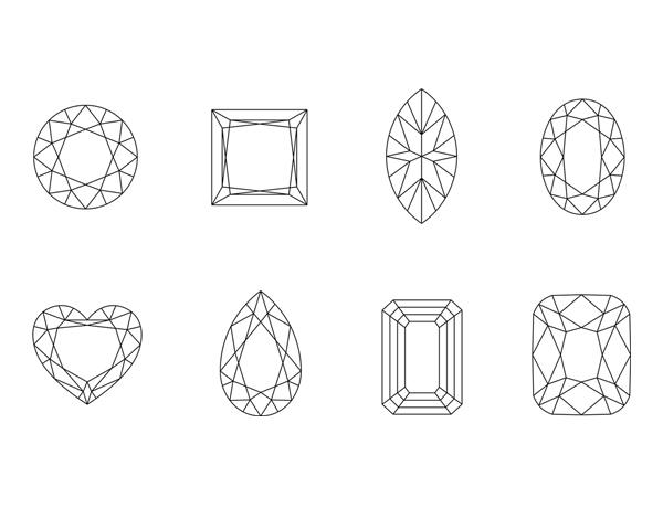 Diamantschliffe