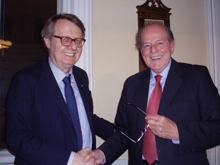 KR Georg Fischmeister & KR Wilfried Haas
